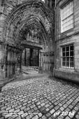 Holyrood Abbey and Palace of Holyroodhouse, Edinburgh, Scotland, UK